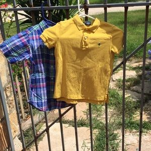 Kids buttoned down Polo shirts